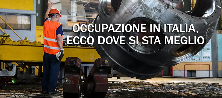 occupazione in italia