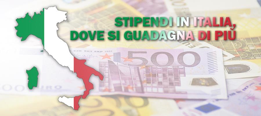 stipendi in Italia